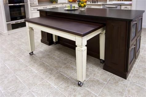 hidden kitchen table roll out table accessible kitchen ideas pinterest