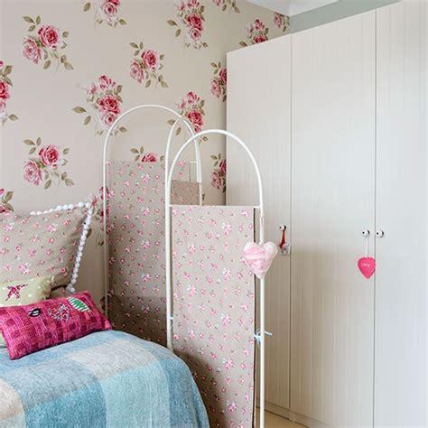bedroom screen girl s bedroom with floral screen children s room