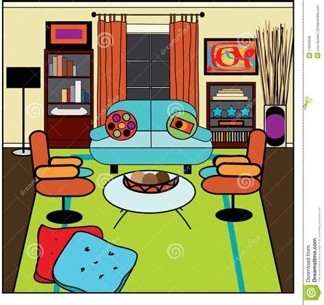 wohnzimmer clipart zeitgen 246 ssisches wohnzimmer vektor abbildung bild 14033958