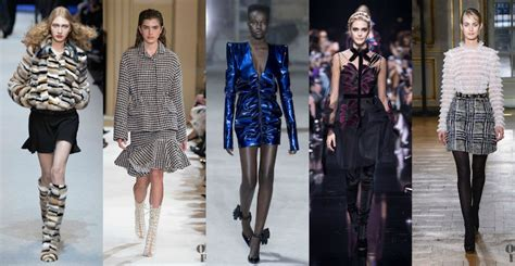 top trends all trends from paris fashion week fall winter 2017 2018