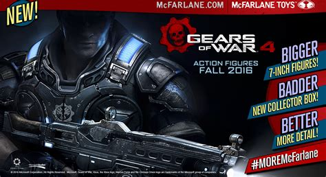 Injustice Hyper Giveaway - mcfarlane toys partners with microsoft for gears of war 4 collectible action figures