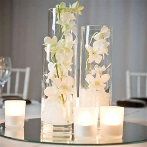 75cm cylinder glass vases for wedding table