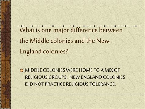 ppt settling the middle colonies powerpoint presentation