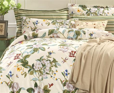country style duvet covers blooming botanical nature cottage country style duvet