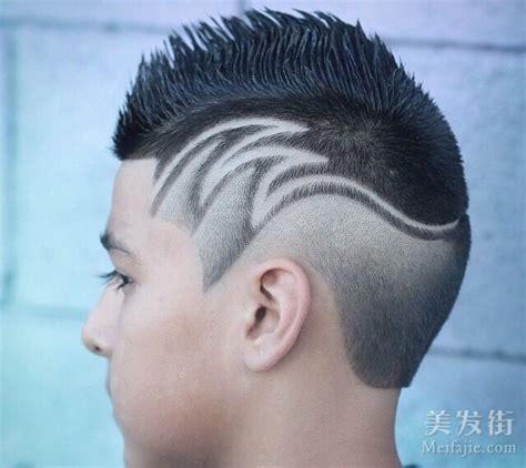 小男孩发型设计 国外小朋友很有范 第1页 发型设计 儿童发型 美发街