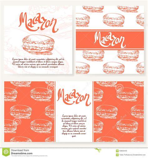 Cafe Menu With Hand Drawn Design Dessert Restaurant Menu Template Set Of Cards For Corporate Dessert Menu Template