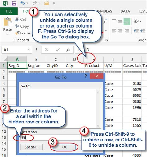 how to unhide worksheet tricks for hiding and unhiding excel rows and columns 187 davidringstrom