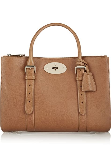 Tribute To A Timeless Classic Mulberrys Leather Bayswater Bag by Mulberry Small Bayswater Tote In Brown Save 50 Lyst