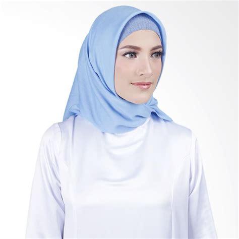 Kerudung Square jual cantik kerudung misha square voal shawl sky