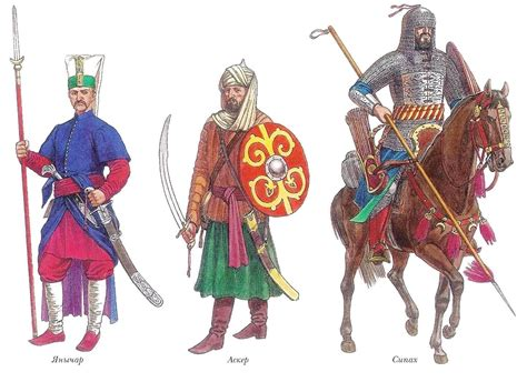 sipahi otomano ottoman janissary asker sipahi xv c islamische