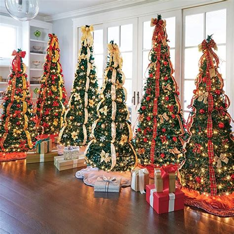 qvc pop up pre lite decorated christmas tree most realistic artificial trees for 2018