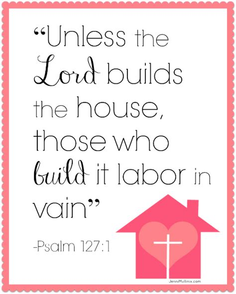 except the lord build the house unless the lord builds the house scripture printable live called