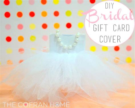 Gift Card Covers - diy bridal gift card cover the cofran home