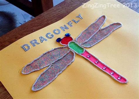 Dragonfly Paper Craft - three beautiful types of dragonfly craft zingzingtree