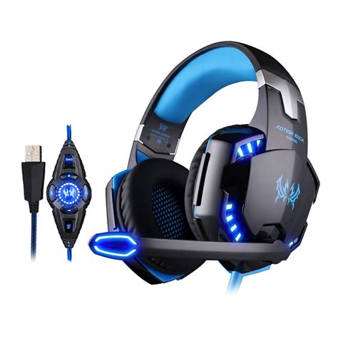 Headphone Model Gaming With Microphone Sn 281m kotion each g2200 gaming headphone usb 7 1 surround stereo headset vibration system rotatable
