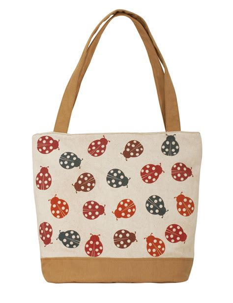 Handmade Bag Design - printed vintage designs canvas handmade tote bag shopper