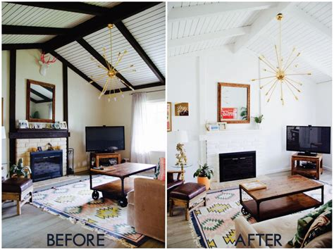 house makeover the living room beach house makeover before and after
