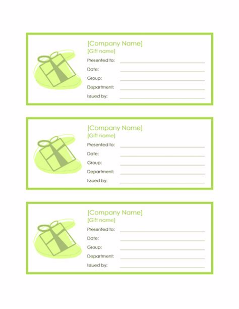 gift certificate template word 2010 employee gift certificate template word 2010 free