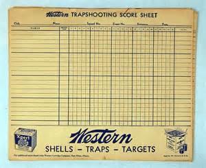 Trap Shooting Score Sheets Printable » Home Design 2017
