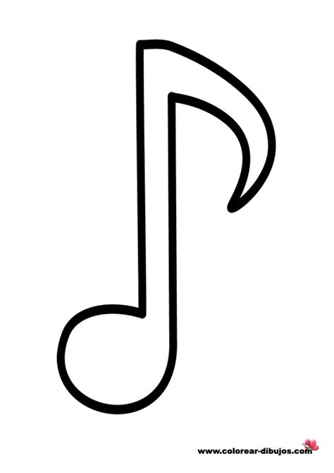 imagenes de tonos musicales dibujos de notas musicales para colorear dibujos para