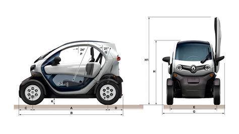 smart car overall length dimensions twizy electric renault uk