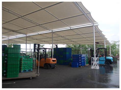 Tenda Membrane Bahan Pylamin Coldura tenda membran kanopi kain tenda membrane