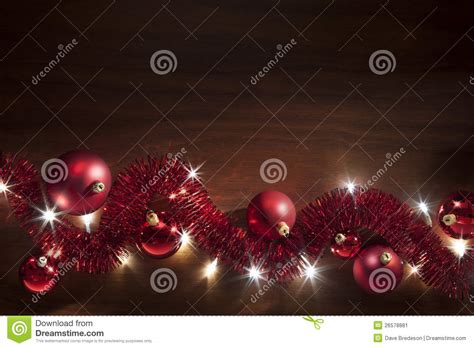 christmas tinsel lights background stock image image