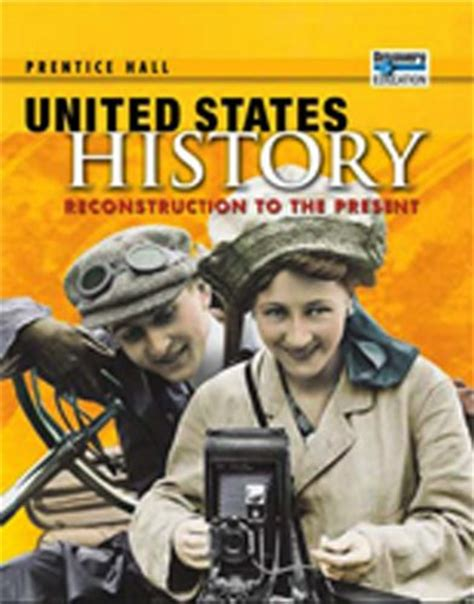 u s history books prentice us history reconstruction to the present