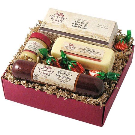 costco hickory farms gift pack hickory farms 4 farmhouse sler gift pack 12 1 oz walmart