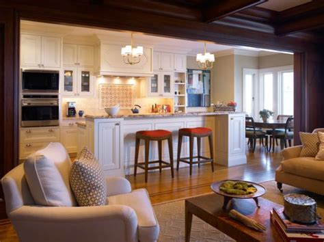 kitchen family room ideas five beautiful open kitchen interior designs