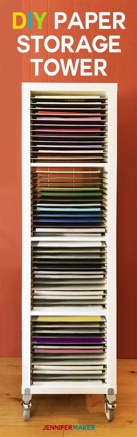 12x12 Craft Paper Storage - 12x12 paper storage diy vertical organizer for scrapbook