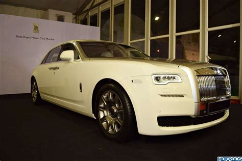 roll royce india rolls royce ghost series ii launched in new delhi motoroids