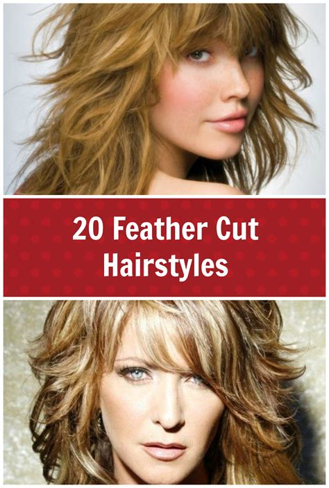 cut hairstyles 20 feather cut hairstyles for medium and hair