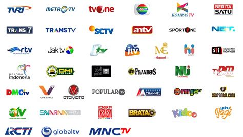 Channel White Khusus 3 Pasang ninmedia siaran tv satelit gratis top tv okevision indovision