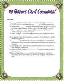 Report Book Comments For Preschoolers by 1000 Ideas About Report Cards On Report Card Comments Kindergarten Report Cards