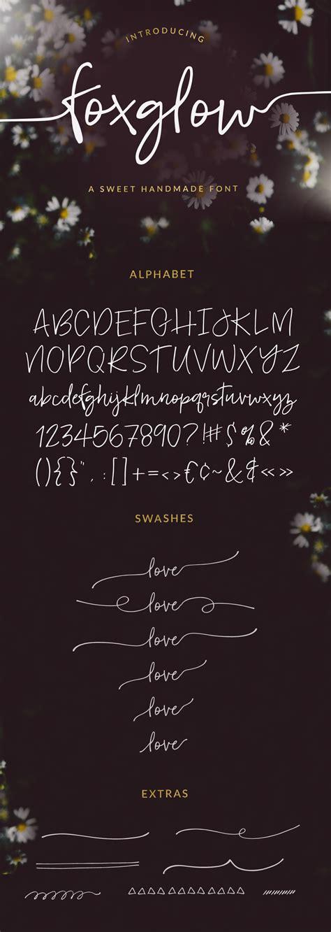 Wedding Running Fonts by Foxglow Font Script Fonts On Creative Market