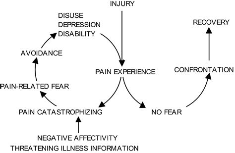 the pain avoidance article template is the fear avoidance model associated with the reduced
