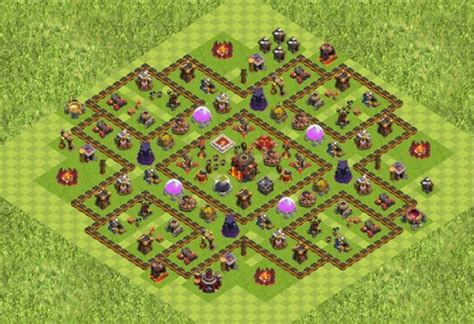 10 best coc town hall th8 farming bases with bomb tower 2016 clash of clans town hall 10 strongest game