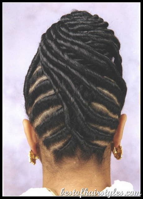 silky flat twists updo cornrows braids styles