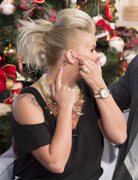 kerry katona tattoo on shoulder kerry katona talks latest marriage quot i can t afford