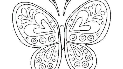 butterfly color pages butterfly coloring pages printable coloring pattern pages