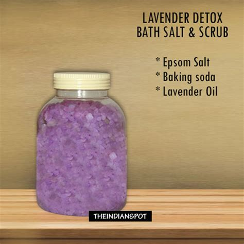 Baking Soda Detox Bath Benefits by Diy Products Using Lavender The Indian Spot