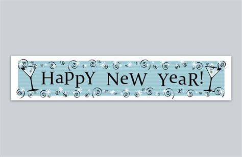 happy new year banner happy new year banner printable new year banner