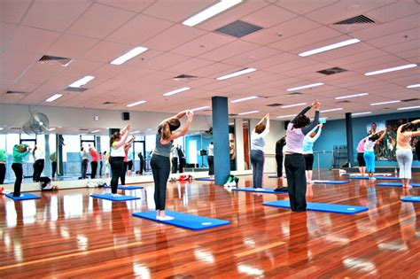 gyms hiring front desk near me file yoga class at a gym4 jpg wikimedia commons