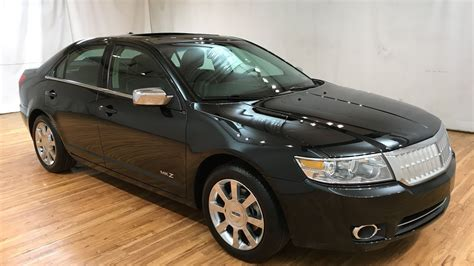 2009 Lincoln Mkz by 2009 Lincoln Mkz Awd Leather Nav Moonroof Carvision