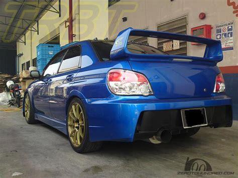 2004 subaru wrx spoiler buy wholesale subaru wrx rear spoiler from china