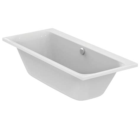 double ended bathtub ideal standard e3976 rectangular double ended bathtub