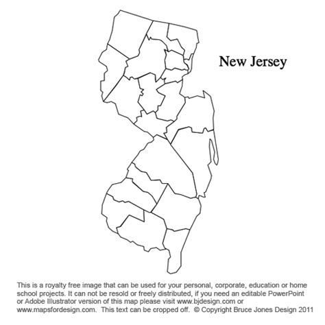 printable map jersey new jersey clipart clipart panda free clipart images