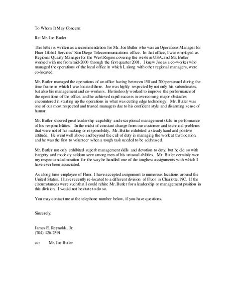 Recommendation Letter For Employee Of The Quarter Letters Of Recommendation