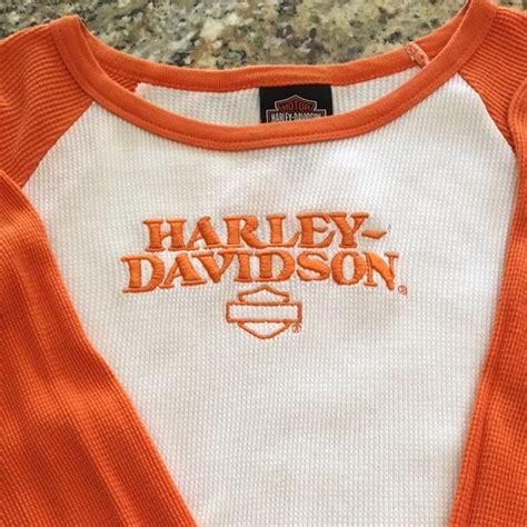 Topi Baseball Polo Ralph K 6 Ls 66 harley davidson tops harley davidson womens l s thermal baseball shirt from shani s